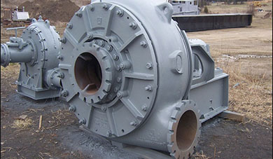 The perfect components design of the centrifugal slurry pump