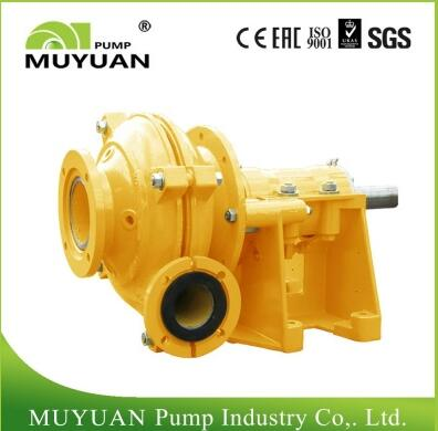Barge loading gravel pump installation should be easy