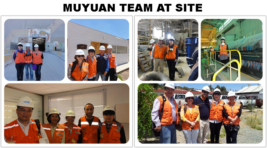 MUYUAN TEAM AT SITE
