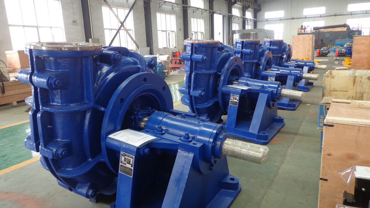 Horizontal Centrifugal Gravel Pumps